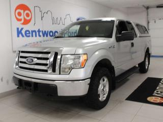 Used 2011 Ford F-150 XLT 4x4 with keyless entry, cap-it style box cover with box liner for sale in Edmonton, AB