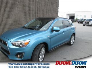 Used 2013 Mitsubishi RVR traction intégrale 4 portes CVT GT for sale in Gatineau, QC