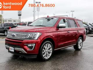 New 2019 Ford Expedition PLATIN 600A 3.5L Ecoboost, navigation, remote vehicle start, reverse camera system, heated steering wheel for sale in Edmonton, AB