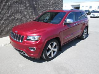Used 2014 Jeep Grand Cherokee 4 RM 4 portes Overland for sale in Gatineau, QC