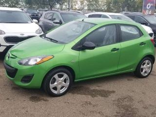 Used 2013 Mazda MAZDA2 GX; GREAT ON GAS, A/C AND MORE for sale in Edmonton, AB