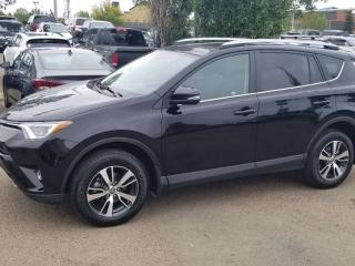 Used 2018 Toyota RAV4 XLE; BLUETOOTH, BACKUP CAM, HEATED SEATS, SUNROOF AND MORE for sale in Edmonton, AB