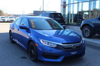 Used 2016 Honda Civic manuelle, LX fiable économique a bas pr for sale in Lévis, QC