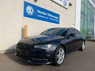 Used 2016 Audi A6 2.0T PROGRESSIV QUATTRO AWD - LEATHER / HEATED SEATS for sale in Edmonton, AB