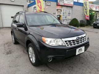 Used 2012 Subaru Forester Limited | NAVI |  Sunroof | Leather | Bluetooth for sale in Oakville, ON