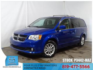 Used 2018 Dodge Grand Caravan |SXT|PREMIUM PLUS|STOWNGO|CUIR|CAM|DVD| for sale in Drummondville, QC