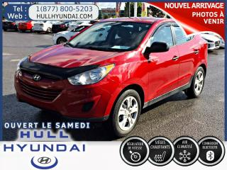 Used 2013 Hyundai Tucson GL  automatique a/c for sale in Gatineau, QC