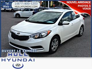 Used 2016 Kia Forte 1.8L LX  automatique a/c for sale in Gatineau, QC