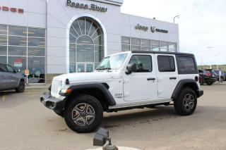 New 2020 Jeep Wrangler UNLIMITED SPORT for sale in Peace River, AB