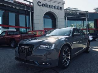 Used 2018 Chrysler 300 S - Local / Accident free / Leather / Back up Cam for sale in Richmond, BC