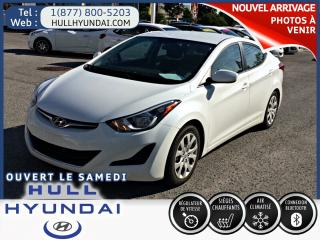 Used 2016 Hyundai Elantra GL  automatique a/c et sieges chauffants for sale in Gatineau, QC