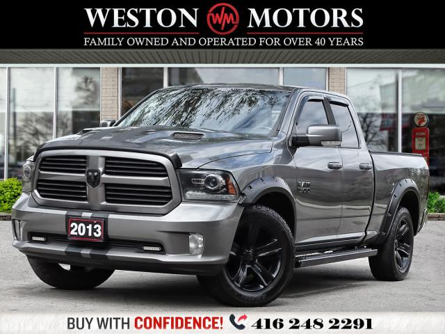 2013 Dodge Ram 1500 *4X4*SPORT*SUNROOF*NAVI*REV CAM* LEATHER*HEMI*
