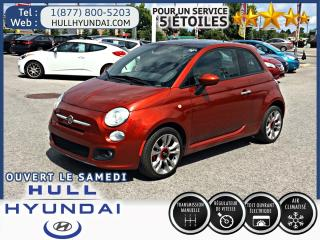 Used 2014 Fiat 500 Sport, toit ouvrant WOW super look! for sale in Gatineau, QC