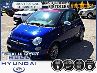 Used 2012 Fiat 500 C Lounge, Convertible, super look BAS KM! WOW !!! for sale in Gatineau, QC