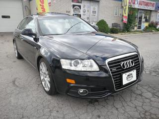 Used 2011 Audi A6 NAVIGATION_REAR CAM_BLUETOOTH_LEATHER_SUNROOF for sale in Oakville, ON