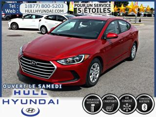 Used 2017 Hyundai Elantra LE for sale in Gatineau, QC