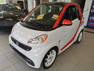 Used 2016 Smart fortwo COUPE 2 PORTES / ELECTRIC / EDITION SPEC for sale in Sherbrooke, QC