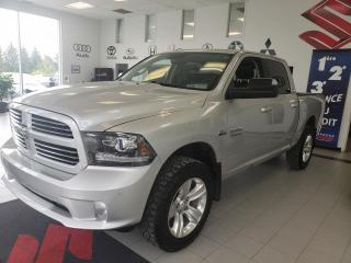 Used 2014 RAM 1500 SPORT / CUIR / TOIT  / NAVIGATION for sale in Sherbrooke, QC