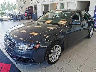 Used 2011 Audi A4 PRENIUM / TOIT OUVRANT / CUIR / BAS KM for sale in Sherbrooke, QC