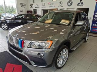 Used 2013 BMW X3 CUIR / NAVIGATION / AWD / CRUISE / for sale in Sherbrooke, QC