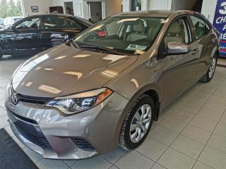 Used 2015 Toyota Corolla LE / AIR CLIMATISÉ / CRUISE / for sale in Sherbrooke, QC