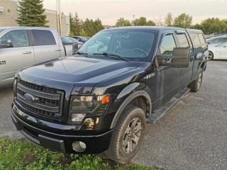 Used 2013 Ford F-150 CUIR / NAV / FX4 / 5.0L / CAMERA for sale in Sherbrooke, QC