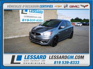Used 2017 Mitsubishi Mirage ES, VITRE ELECTRIQUE, PHARE ANTIBROUILLARD for sale in Shawinigan, QC
