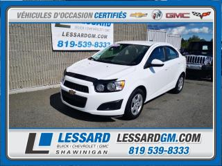 Used 2016 Chevrolet Sonic LT, CAMERA DE RECUL, CLIMATISATION, BLUETOOTH for sale in Shawinigan, QC
