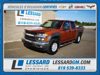 Used 2005 Chevrolet Colorado LS, Z71, VITRE ELECTRIQUE, 4X4, CLIMATISATION for sale in Shawinigan, QC