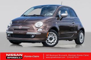 Used 2012 Fiat 500 LOUNGE CUIR // TOIT OUVRANT // SIEGES CHAUFFANTS for sale in Montréal, QC
