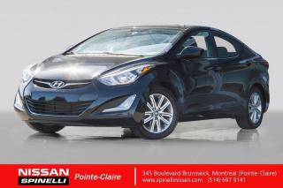 Used 2015 Hyundai Elantra SPORT DEMAREURS A DISTANCE / SIEGES CHAUFFANTS / BLUETOOTH / TOIT OUVRANT for sale in Montréal, QC