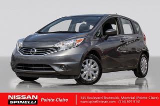 Used 2016 Nissan Versa Note SV MANUELLE  / TRES BAS KM / CAMÉRA DE RECUL / BLUETOOTH / MIROIR CHAUFFANTS / for sale in Montréal, QC