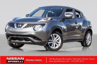 Used 2015 Nissan Juke SV AWD TRES BAS KM / 4WD / CAMÉRA DE RECUL / DÉMARREUR A DISTANCE for sale in Montréal, QC