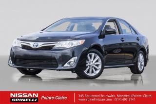 Used 2013 Toyota Camry Hybride XLE HYBRID NAVIGATION / CUIR ET SUEDE / MAGS 17
