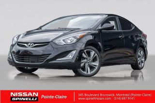 Used 2015 Hyundai Elantra GLS TOIT OUVRANT / BLUETOOTH / MAGS 17'' / CAMERA DE RECUL for sale in Montréal, QC