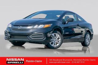 Used 2014 Honda Civic LX 2 PORTES / LX / 5 PASSAGERS / BLUETOOTH / PNEUS DHIVER ET ÉTÉ for sale in Montréal, QC