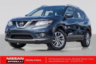 Used 2015 Nissan Rogue SL AWD NAVIGATION / TOIT PANORAMIQUE / CUIR / ANGLES MORTS for sale in Montréal, QC