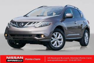 Used 2012 Nissan Murano SL DÉMARREUR A DISTANCE / BLUETOOTH / TOIT OUVRANT PANORAMIQUE / CAMERA DE RECUL for sale in Montréal, QC