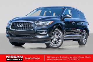 Used 2017 Infiniti QX60 PREMIUM NAVIGATION / AWD / CUIR / CAMERA 360 for sale in Montréal, QC