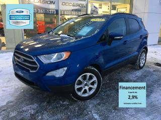 Used 2018 Ford EcoSport SE FWD TOIT CERTIFIÉ FORD TAUX A PARTIR for sale in St-Georges, QC