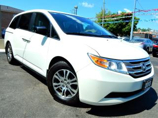 Used 2013 Honda Odyssey EX-L w/RES.Leather.Roof.Power Doors.Park Assist for sale in Kitchener, ON