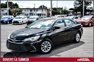 Used 2015 Toyota Camry LE - Gr COMMODITÉ - BLUETOOTH - AIR - CAMERA for sale in St-Léonard, QC