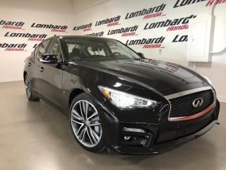 Used 2015 Infiniti Q50 SPORT|TECH|AWD|NOIR MALBEC|BOSE| for sale in Montréal, QC