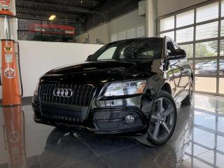 Used 2015 Audi Q5 TECHNIK|2.0T|S-LINE|BLACK OPTIC|B&O|NAVI for sale in Montréal, QC