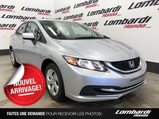Used 2014 Honda Civic LX|JAMAIS ACCIDENTÉ for sale in Montréal, QC