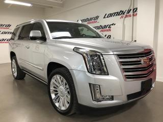 Used 2015 Cadillac Escalade PLATINUM|JAMAIS ACCIDENTÉ|BOSE| for sale in Montréal, QC