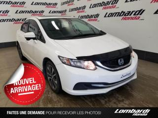 Used 2015 Honda Civic EX|JAMAIS ACCIDENTÉ| for sale in Montréal, QC
