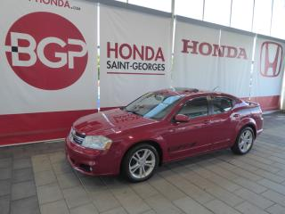 Used 2013 Dodge Avenger SXT for sale in St-Georges, QC