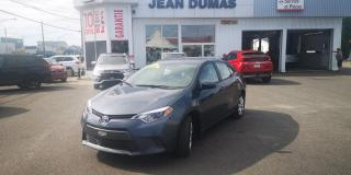 Used 2016 Toyota Corolla Berline 4 portes, Automatique, LE for sale in Alma, QC