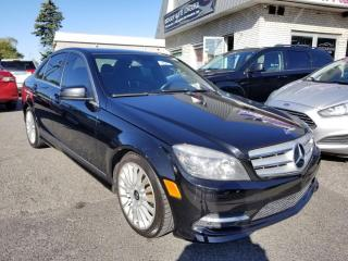 Used 2011 Mercedes-Benz C250 Mercedes C-250 cuir full équip for sale in Longueuil, QC